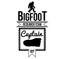 Bigfoot Research Team Captain Photographic Print