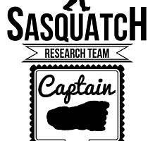 Sasquatch Research Team Captain by kwg2200