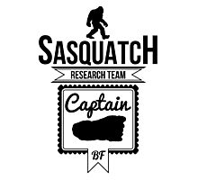 Sasquatch Research Team Captain Photographic Print