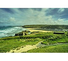 Perranporth Headland  Photographic Print
