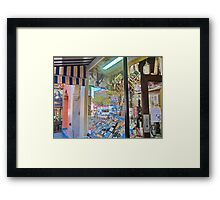 North Beach Deli Framed Print