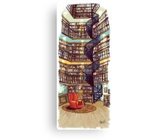 The Library - Archie of Outlandish Canvas Print