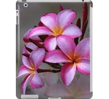 Hawaiian Plumeria Blooms iPad Case/Skin