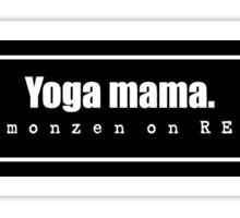 YOGA MAMA Sticker