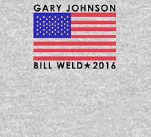 Gary Johnson - Bill Weld 2016 Patriotic Flag Classic T-Shirt