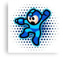 Mega Man Jump! Ultra HQ Modern Print Canvas Print