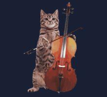 Cello Cat - Meowsicians T-Shirt