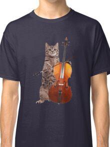 Cello Cat - Meowsicians Classic T-Shirt