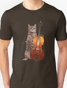 Cello Cat - Meowsicians T-Shirt