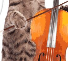 Cello Cat - Meowsicians Sticker