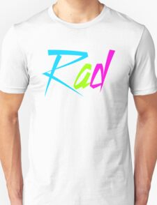 1980's Rad Unisex T-Shirt