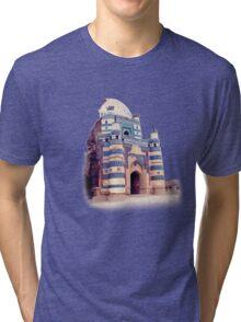 Dome of bibi Jiwandi (Uch Sharief) Tri-blend T-Shirt