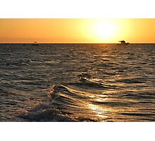 Sea texture Photographic Print