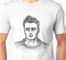 James Dean Inspired Art Unisex T-Shirt