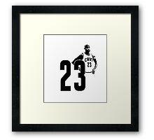 NBA Lebron Framed Print