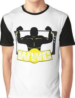 WWC Clean Logo Yellow/Black Graphic T-Shirt