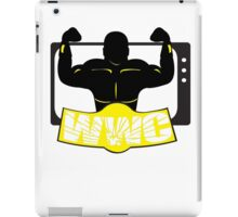 WWC Clean Logo Yellow/Black iPad Case/Skin