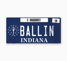 License Plate - BALLIN ON A BUDGET by TswizzleEG