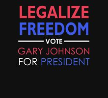 Legalize Freedom Vote Gary Johnson for President Zipped Hoodie