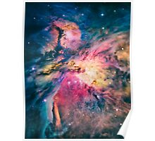 The awesome beauty of the Orion Nebula  Poster
