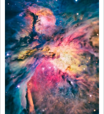 The awesome beauty of the Orion Nebula  Sticker