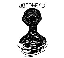 Voidhead (black version)  Photographic Print