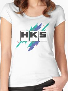 HKS Vintage Women's Fitted Scoop T-Shirt