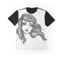 Kate Bush Inspired Illustration Graphic T-Shirt