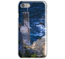 Weirs Cove cliff jetty iPhone Case/Skin