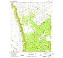 USGS TOPO Map Arizona AZ Red Mesa 313059 1981 24000 Photographic Print