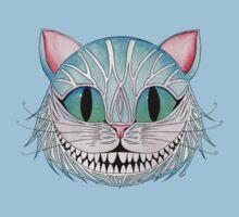 Cheshire Cat (Dark background) Kids Tee