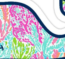 Vineyard Vines Lilly Pulitzer Sticker