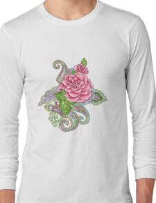 floral tattoo Long Sleeve T-Shirt