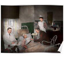 Doctor - Hospital - Bedside manner 1915 Poster