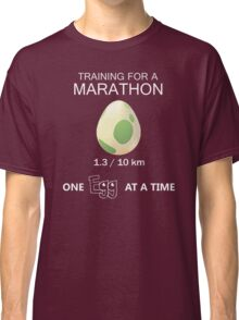 Training for a Marathon Classic T-Shirt