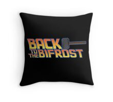 Back to the Bifrost Throw Pillow