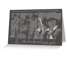Asteroid Blues Greeting Card