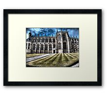 st george chappel windsor castle Framed Print