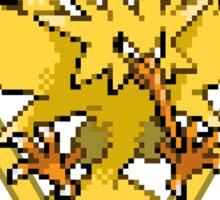Team Instinct pokemon go Pixelart Sticker