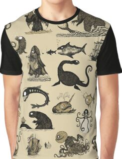 Sea Monsters Collection Graphic T-Shirt