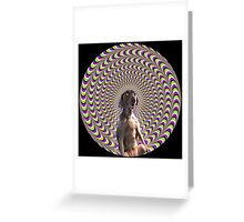 Psychedoggy Greeting Card
