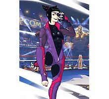 Street Fighter V Juri Photographic Print