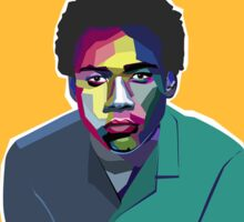 Childish Gambino Art Shirt Sticker