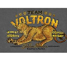 Yellow Paladin Vintage Shirt Photographic Print