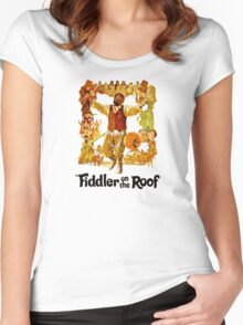 Fidder on the Roof Women's Fitted Scoop T-Shirt