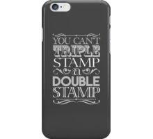Triple Stamp Dark iPhone Case/Skin