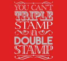 Triple Stamp Dark Baby Tee