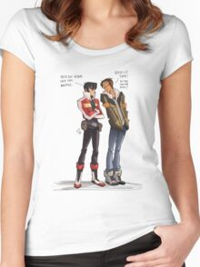 Drunk Lance for all of us! Women's Fitted Scoop T-Shirt