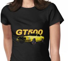1967 Mustang GT500 Womens Fitted T-Shirt