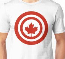 Captain Canada Superhero Shield Parody Unisex T-Shirt